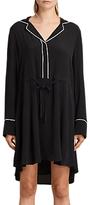 AllSaints Leon Shirt Dress, Black