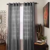 Lavish Home Maggie Grommet Single Curtain Panel, 108-Inch