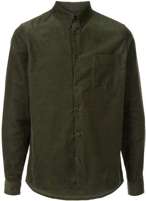 A.P.C. button-down corduroy shirt