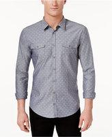 HUGO BOSS Orange Men's Symmetric Dot-Pattern Shirt