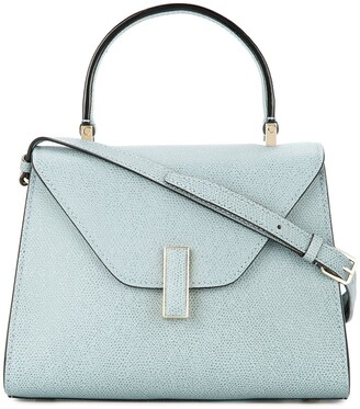 Valextra Trapeze small tote bag