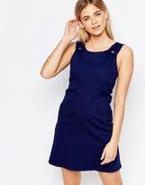 Oasis Denim Pinafore Dress