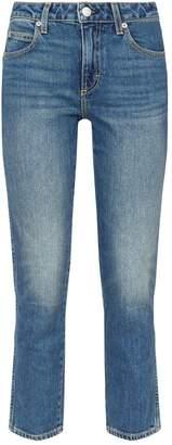 Amo Denim Kate Straight-Leg Jeans