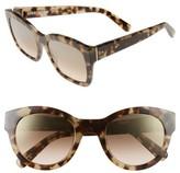 Bobbi Brown Women's 'Ava' 54Mm Sunglasses - Khaki