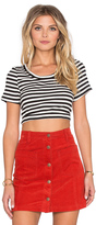 MinkPink Strike Me Crop Top