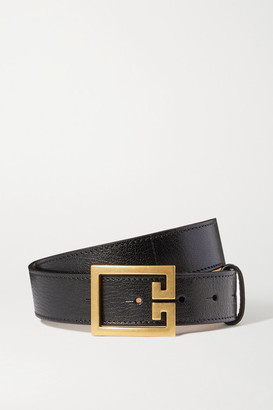Givenchy Textured-leather Belt - Black