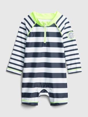 Gap Baby Stripe Swim One-Piece