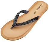 O'Neill Women's Lucille Braided Leather Flip Flop 8168226