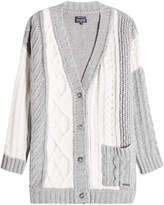 Woolrich Cardigan with Wool, Cashmere and Angora