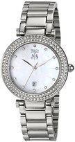 Jivago Women's JV5310 Parure Analog Display Quartz Silver Watch