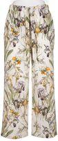 Alexander McQueen Wild Iris Pajama Pants