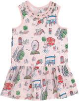 Cath Kidston London Spots Frill Neck Dress