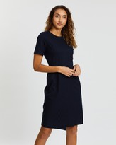Dorothy Perkins Pinstripe Short Sleeve Dress