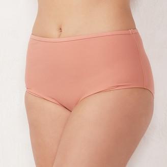 Lauren Conrad Plus Size High-Waisted Brief Bottoms