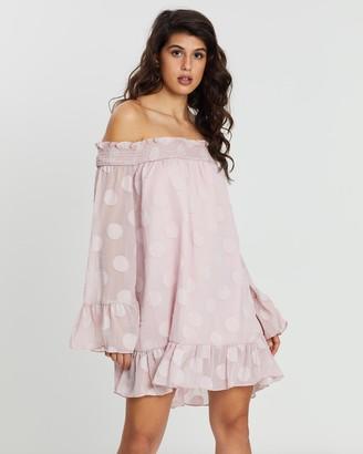 Loreta - Women's Pink Mini Dresses - Expecting Dress - Size One Size, XS at The Iconic
