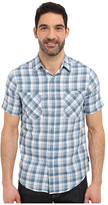 Royal Robbins Biscayne Bay Plaid Short Sleeve Shirt