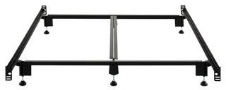 Malouf Steelock Metal Wedge Lock Headboard/Footboard Bed Frame by Structures