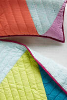 Anthropologie Triangles Toddler Quilt