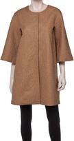 Max Studio Cloque Topper Coat