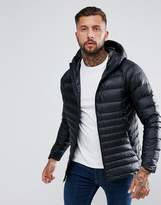 Nike Down Filled Jacket With Hood In Black 866027-010