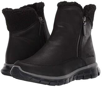 Skechers Synergy (Black/Black) Women's Shoes
