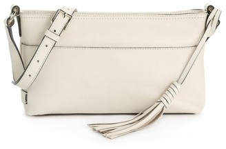 Cole Haan Tassel Leather Crossbody Bag