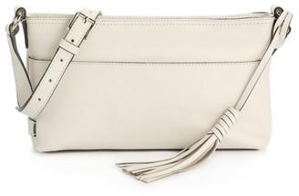 Cole Haan Tassel Leather Crossbody Bag