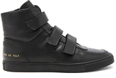 Robert Geller x Common Projects Velcro High Tops