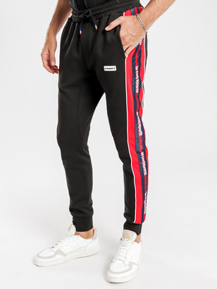 Le Coq Sportif Percy Trackpants in Black