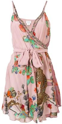 Camilla Ziba Ziba mini wrap dress