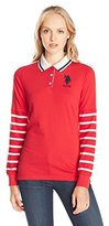 U.S. Polo Assn. Junior's Long-Sleeve Jersey Polo