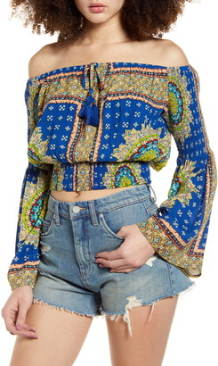 Band of Gypsies Perth Off the Shoulder Top