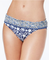 Jessica Simpson Jessic Simpson Patched Up Floral-Print Foldover Bikini Bottoms