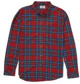 Billabong Boy's Freemont Plaid Flannel Shirt