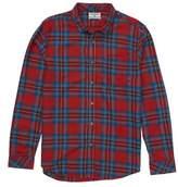 Billabong Freemont Plaid Flannel Shirt
