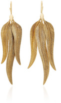Annette Ferdinandsen Bird of Paradise Feather Cluster Earrings
