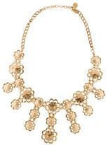 Kate Spade Floral Bib Necklace