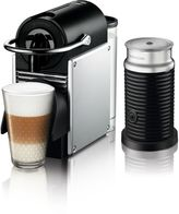 Nespresso by DeLonghi Pixie Espresso Machine Bundle with Aeroccino 3 Frother