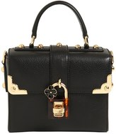 Dolce & Gabbana Dolce Soft Leather Top Handle Bag
