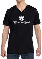 Jackyeah Men's Shirt Jackyeah Tomorrowland Mens V-neck Custom T Shirt