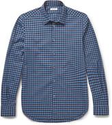 Boglioli - Slim-fit Checked Cotton Shirt