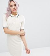 Monki Color Block Polo Mini Dress
