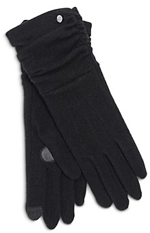 Echo Ruched Cuff Touch Glove