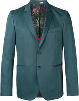 Paul Smith classic blazer - men - Cotton/Linen/Flax/Viscose - 36