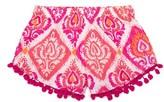 Toddler Girl's Masalababy Pompom Shorts