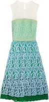 Vionnet Mesh and crochet dress