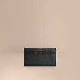 Burberry Grainy Leather Travel Case