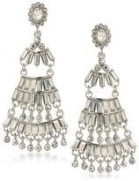 ABS by Allen Schwartz Rockstars Statement Crystal Chandelier Earrings