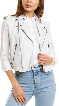 Jakett Jilli Burnished Leather Vest