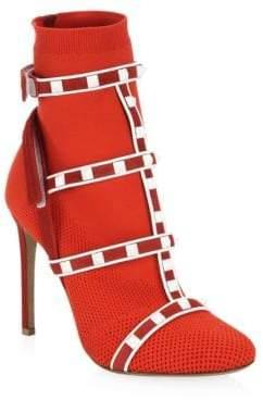 Valentino Women's Rockstud Sock Booties